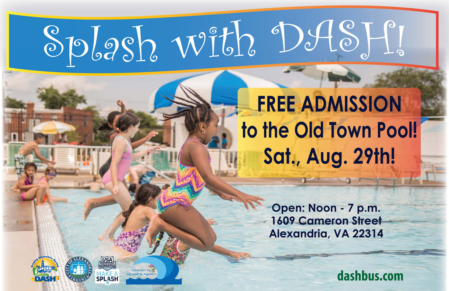 Old Town Pool Free Swim Day